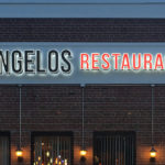 Angelos Pizza - Front Lit & Halo Lit Channel Letters