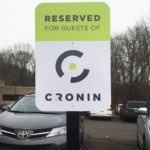 Cronin - Parking Sign
