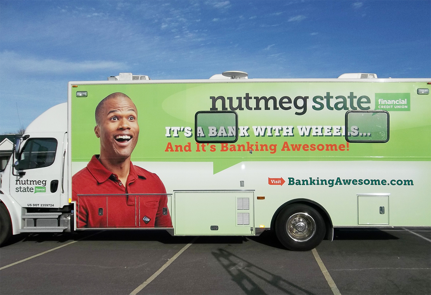 Nutmeg Mobile ATM - Vehicle Graphics - Full Wrap