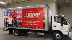 Snap Fitness - Box Truck Vehicle Graphics - Full Wrap