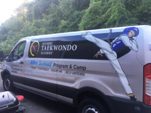 Tae Kwon Do - Van Graphics